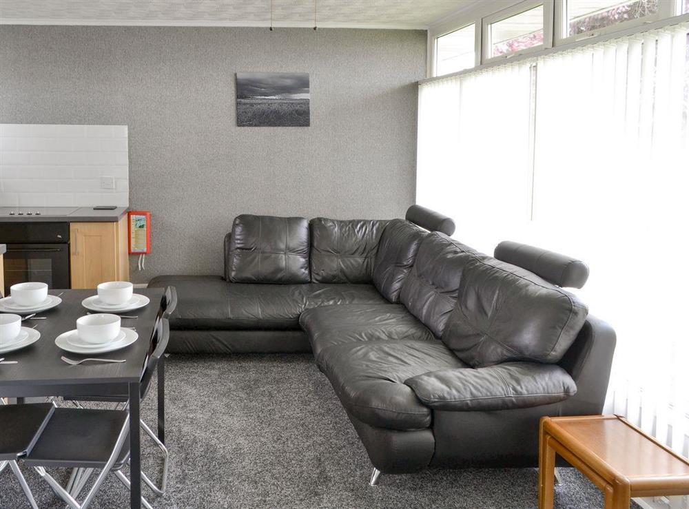 Light and airy living area at Happy Times in Stalham, Norfolk