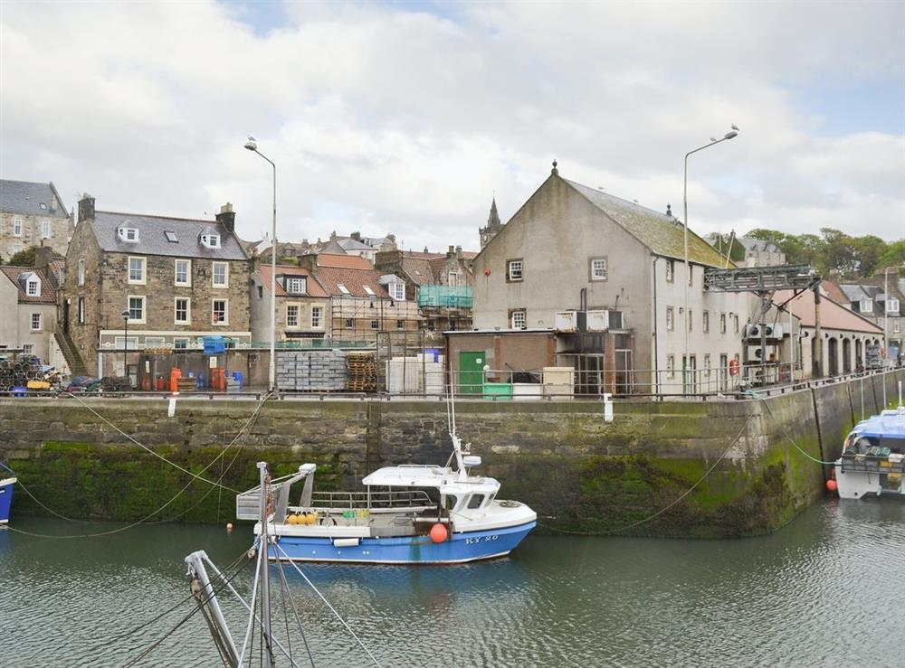 Harbour at Harbour Apartment in Anstruther, Fife