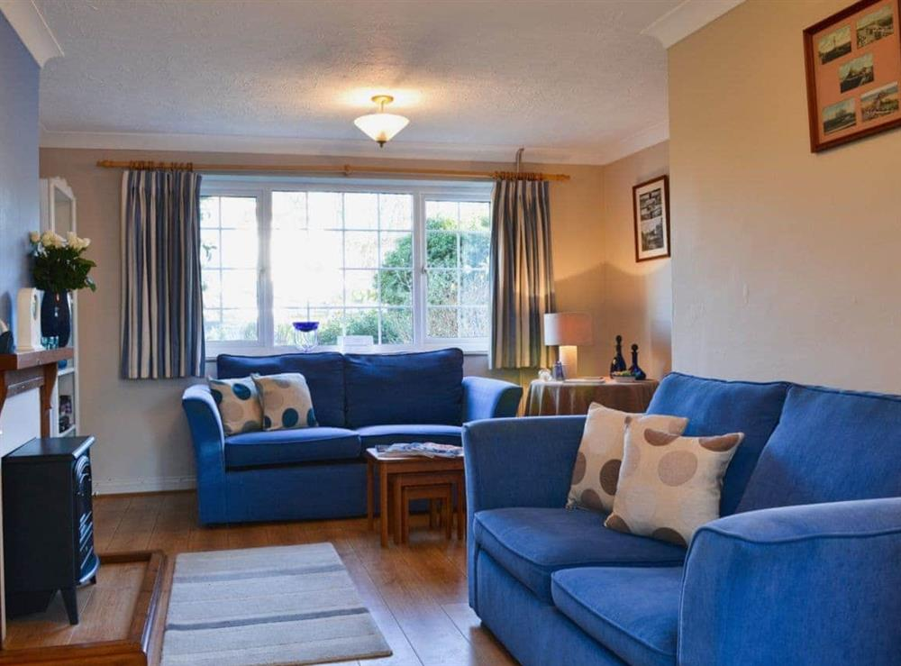 Living room at Harbour Cottage in Great Yarmouth, Norfolk