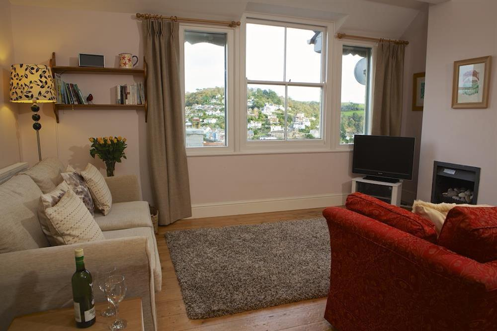 Lounge with lovely views towards Kingswear at Harbour Heights in , Dartmouth