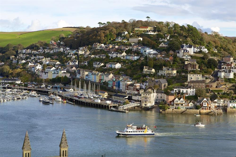 View from Harbour Heights across the River Dart towards Kingswear at Harbour Heights in , Dartmouth