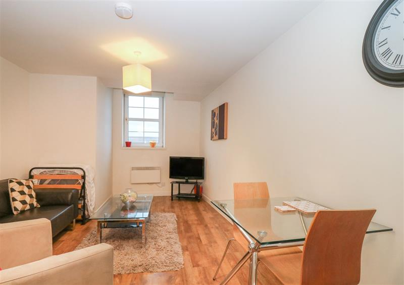Enjoy the living room at Harbour View Apartment, Aberdeen