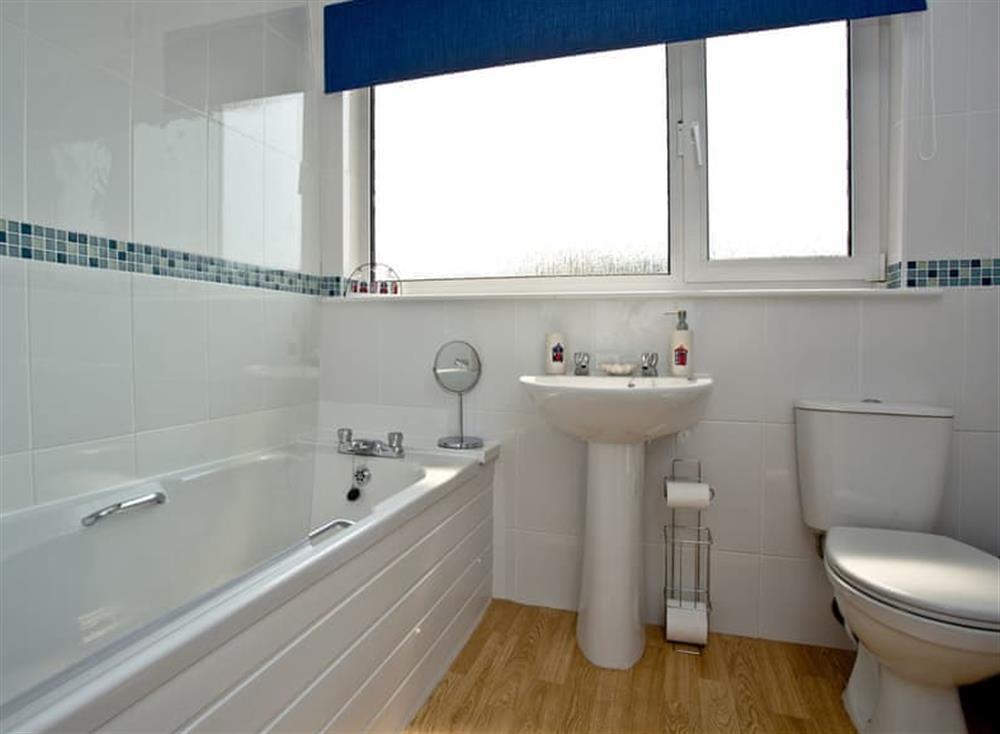 Bathroom at Harbour View in , Brixham