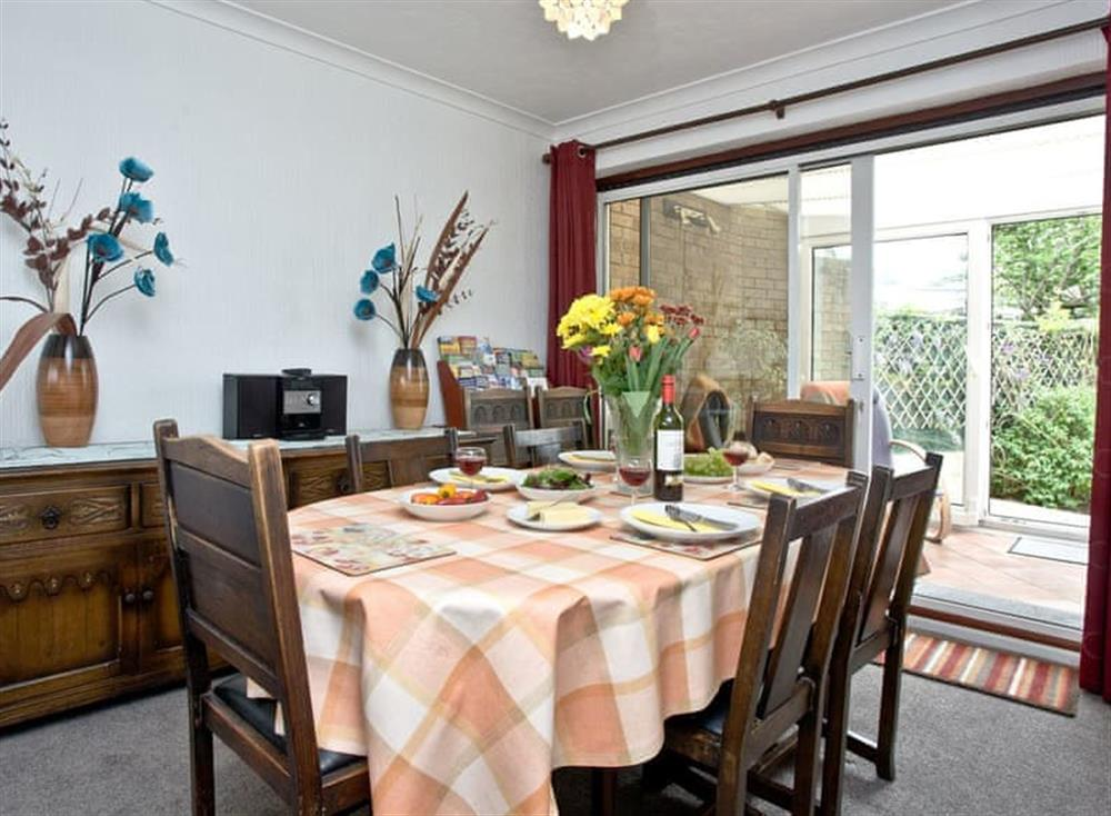 Dining Area at Harbour View in , Brixham