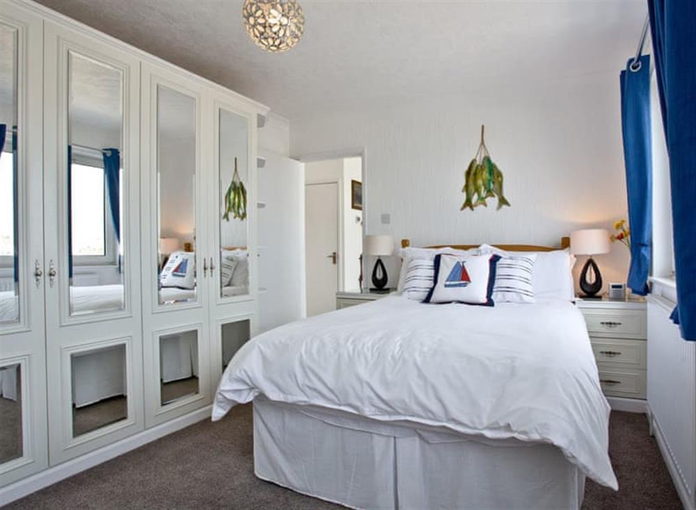 Double bedroom at Harbour View in , Brixham