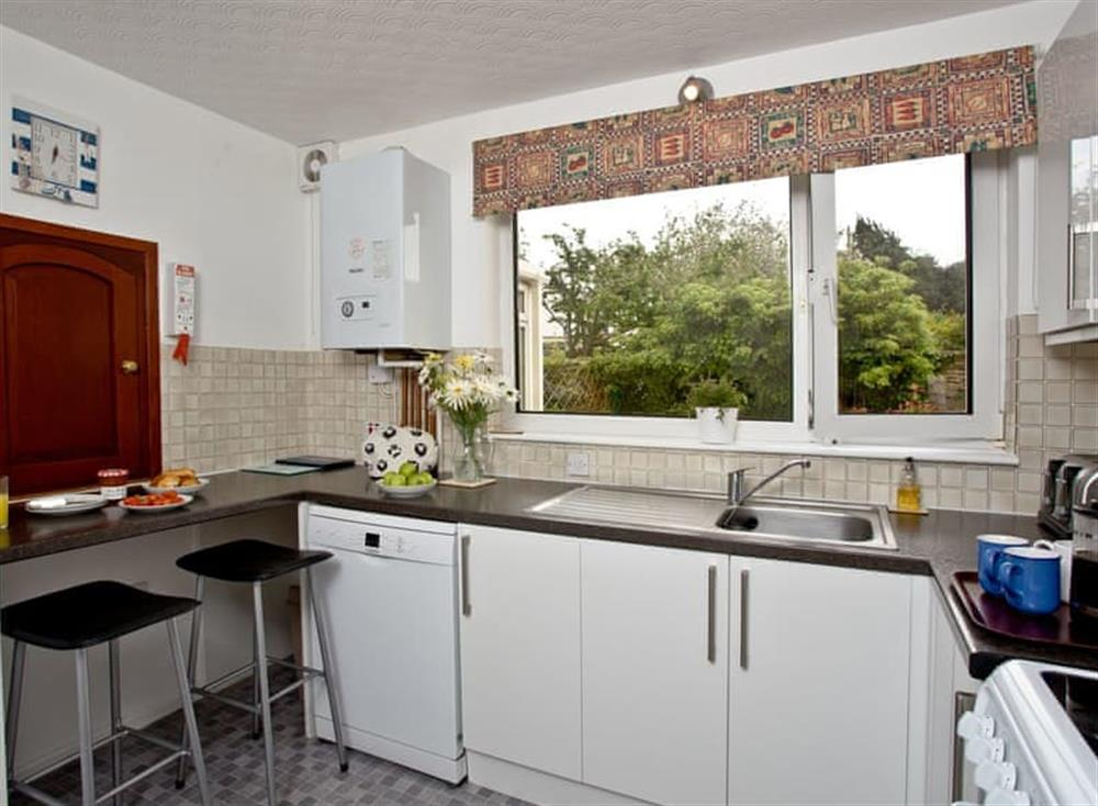 Kitchen at Harbour View in , Brixham