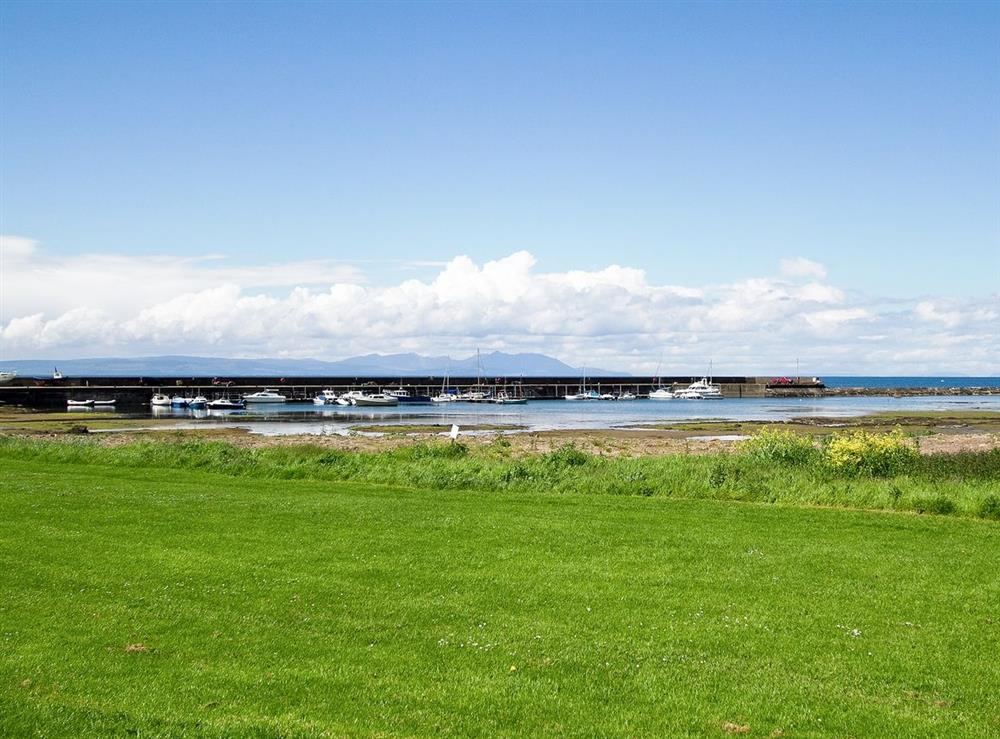 Surrounding area at Harbour View in Maidens, Ayrshire., Great Britain