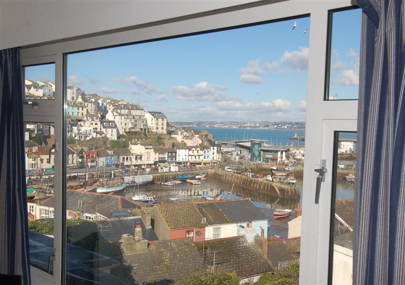 The harbour as seen from Harbour View Retreat