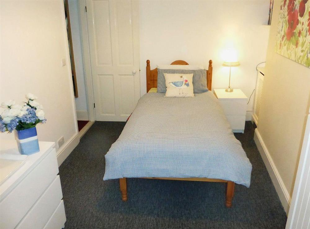 Cosy single bedroom at Harbour Watch in Brixham, Devon