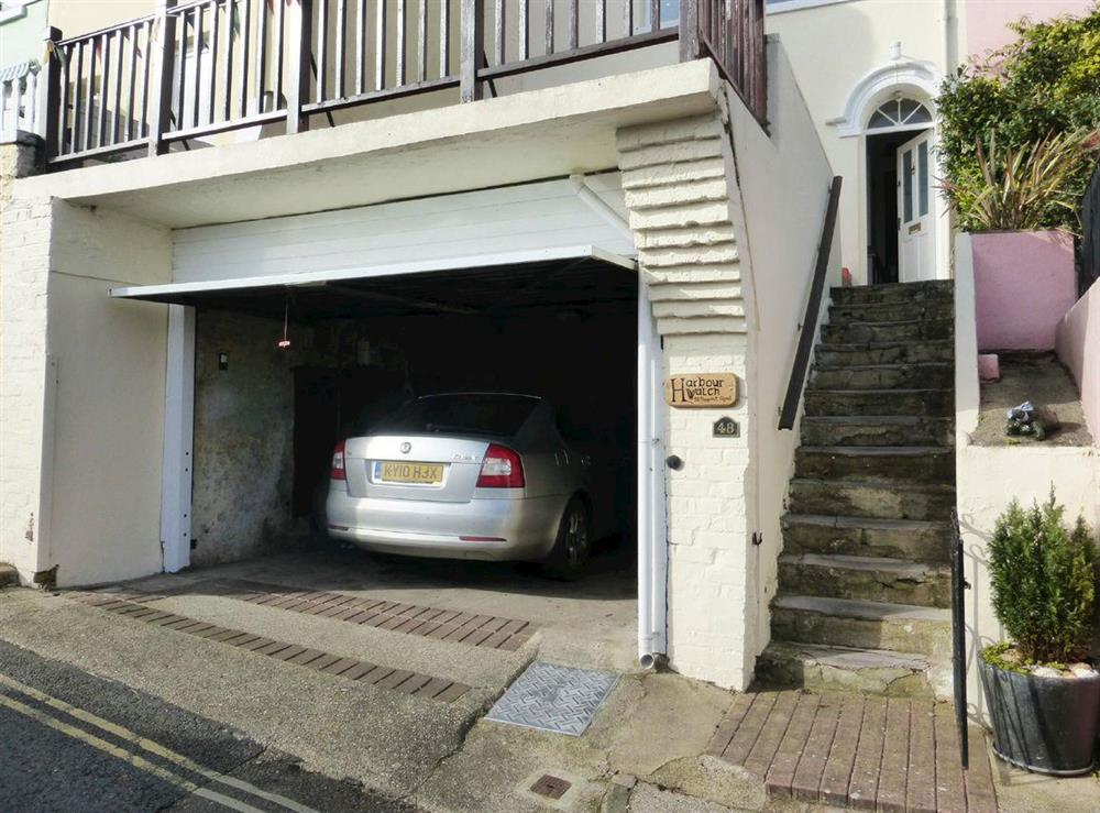 Large single garage at Harbour Watch in Brixham, Devon