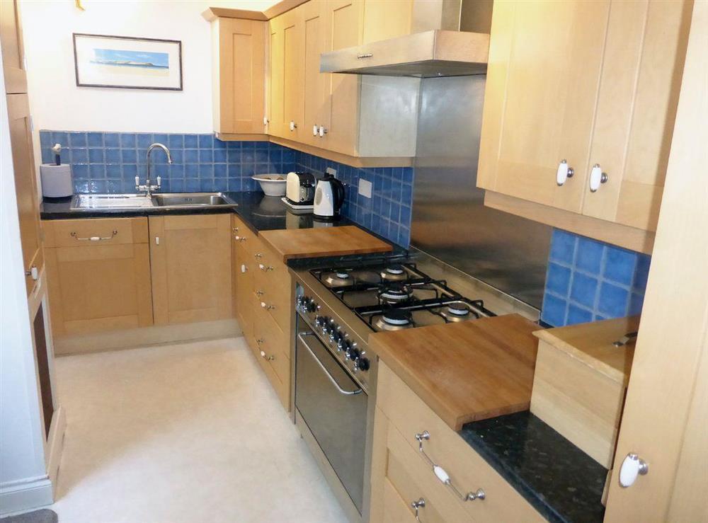 Well equipped kitchen at Harbour Watch in Brixham, Devon