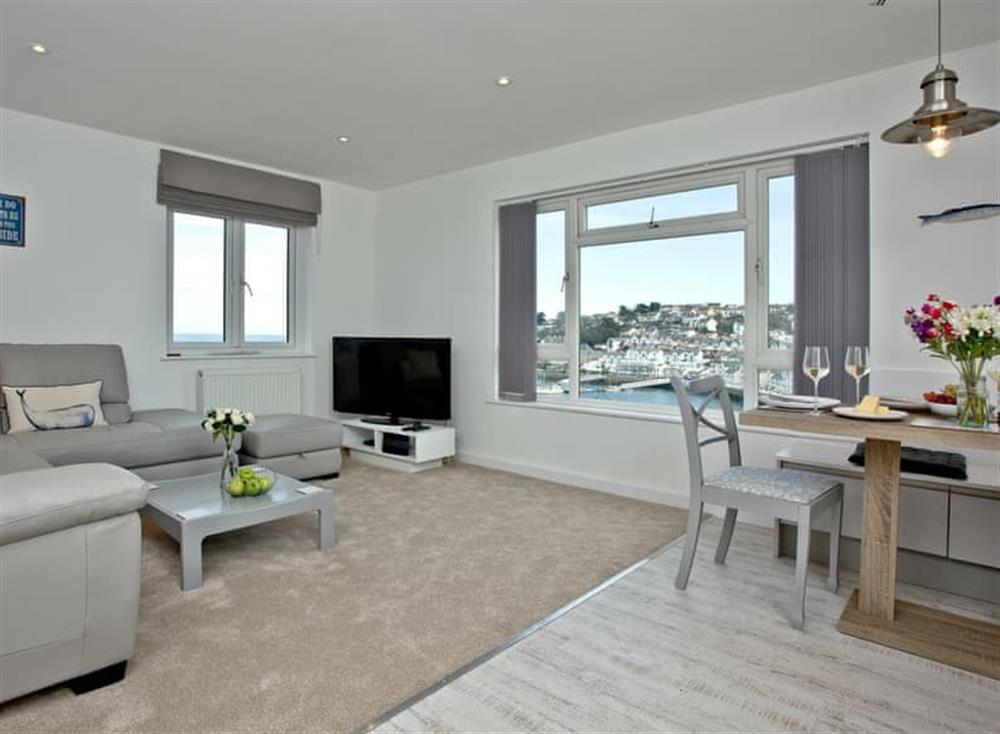 Open plan living space at Harbourside in , Brixham