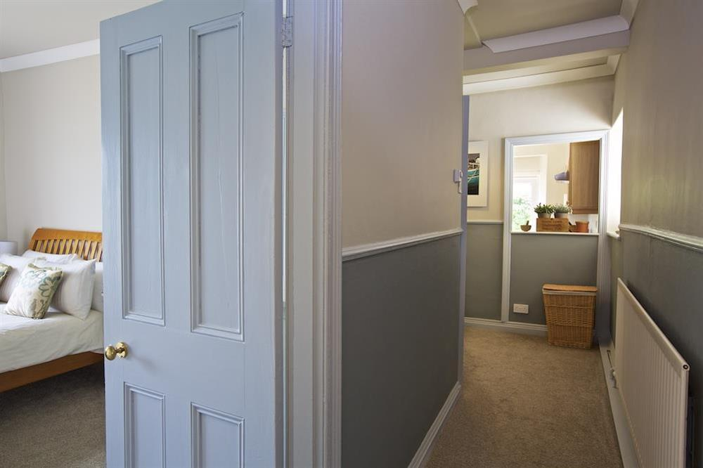 Hallway leading to the Kitchen at Harbourside in South Town, Dartmouth