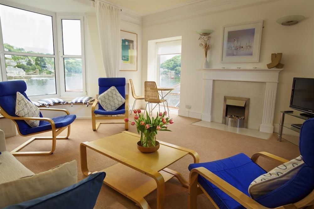 Light and spacious living room at Harbourside in South Town, Dartmouth
