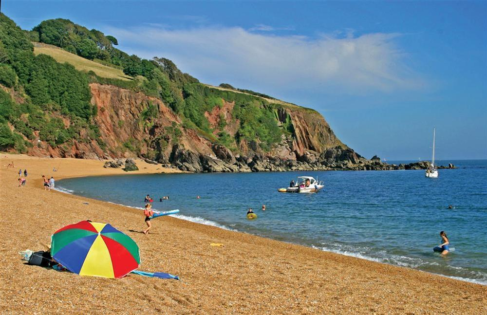 Visit nearby Blackpool Sands beach at Harbourside in South Town, Dartmouth