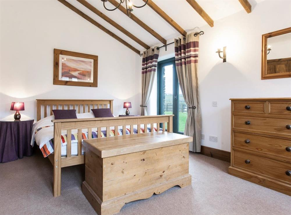 Charming double bedroom at Harriss Park in Halwell, Totnes, Devon
