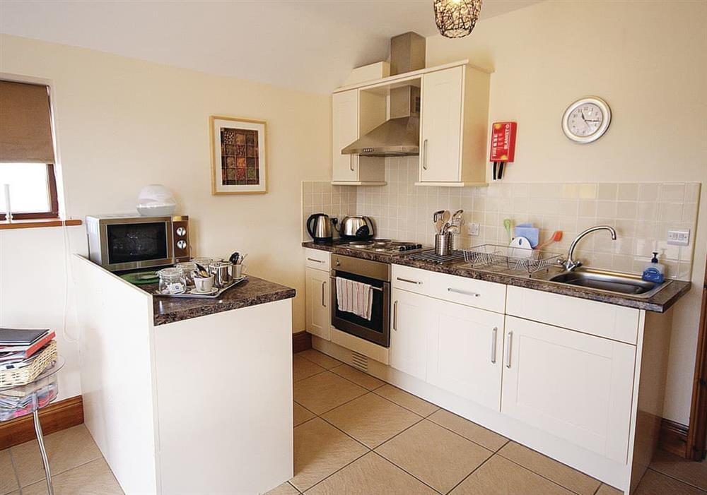 Harvest Cottage kitchen area at Harvest Cottage in Alford, Aberdeenshire