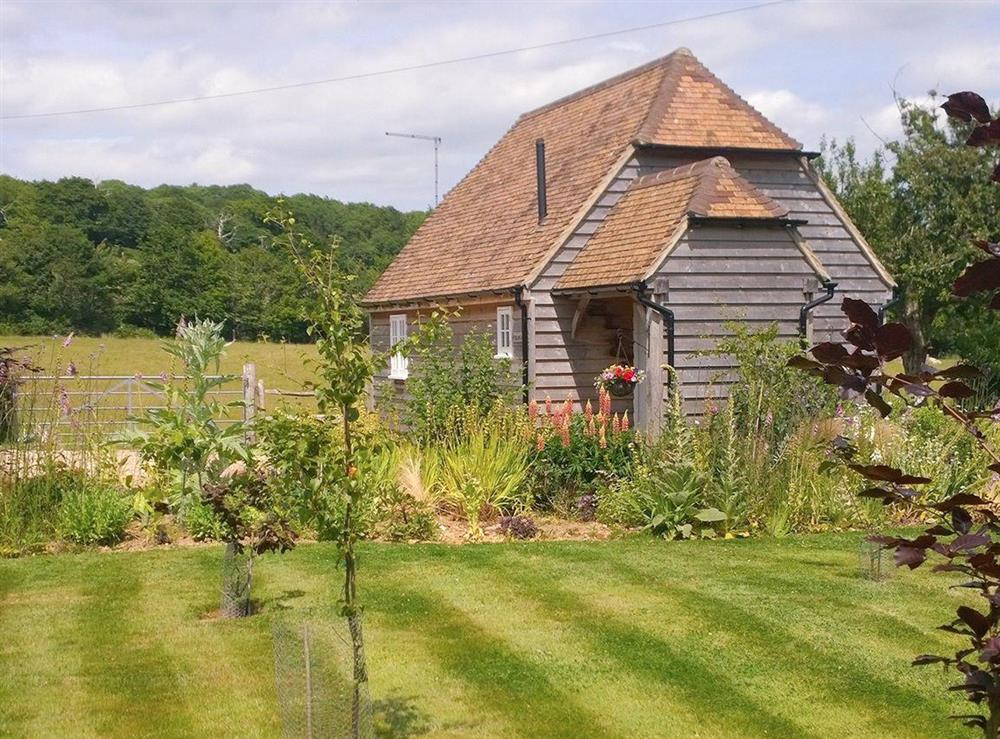 Beautiful detached barn conversion at Hayesland Lodge in Beckley, near Rye, East Sussex
