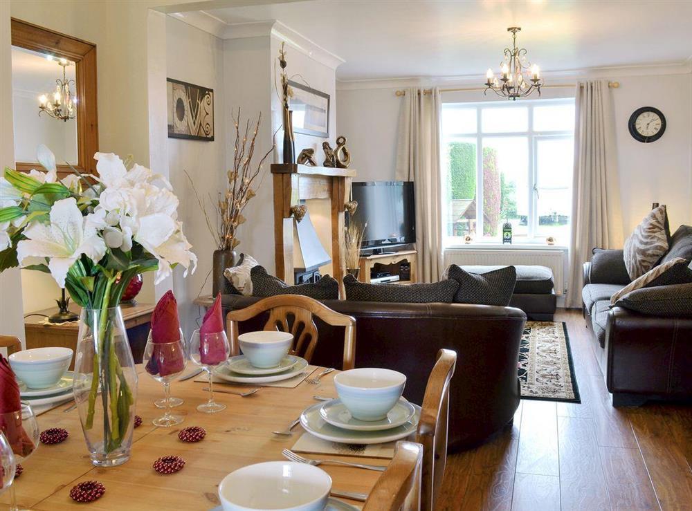 Charming open plan living space at Hazelmere in Flamborough, near Bridlington, North Humberside