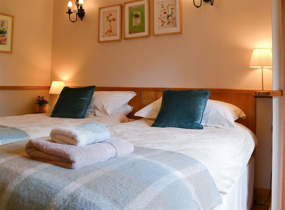 Bedroom as twin at Hazelnut Cottage in Bury St. Edmunds, Suffolk