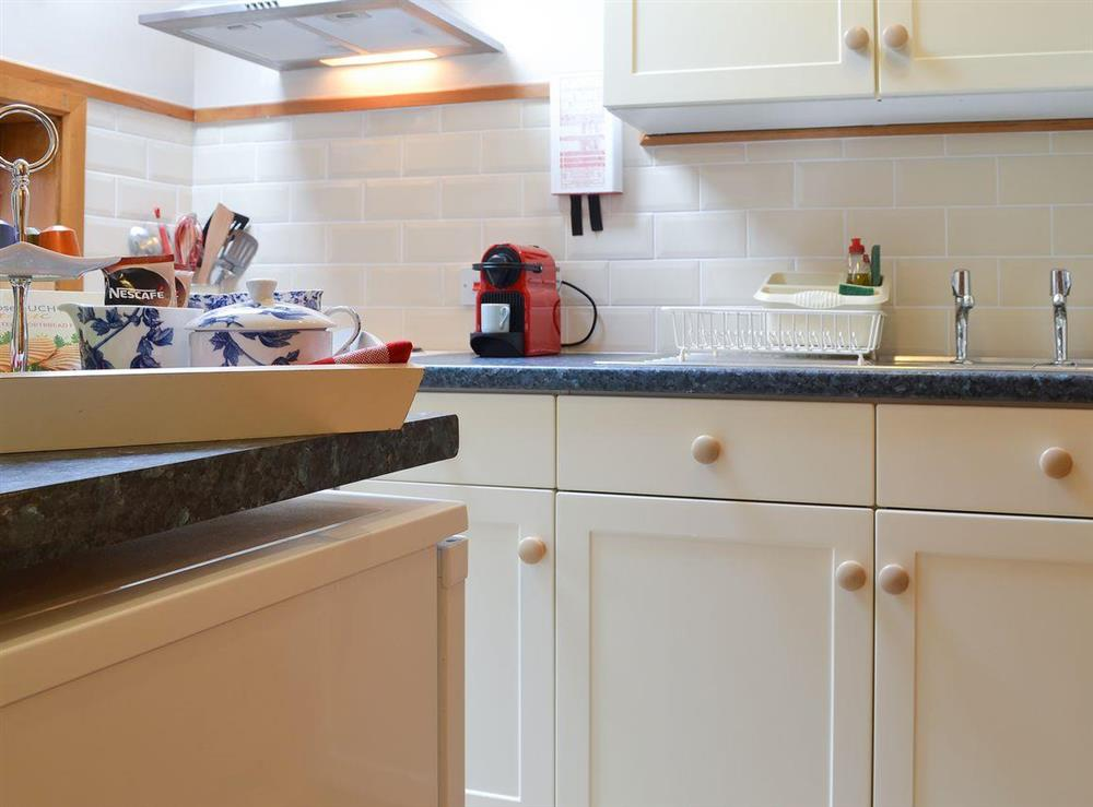 Kitchen at Hazelnut Cottage in Bury St. Edmunds, Suffolk