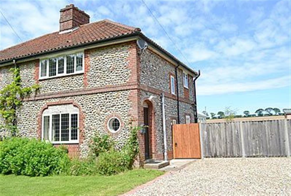 Exterior at Heather Cottage in Thorpe Market, Norfolk., Great Britain