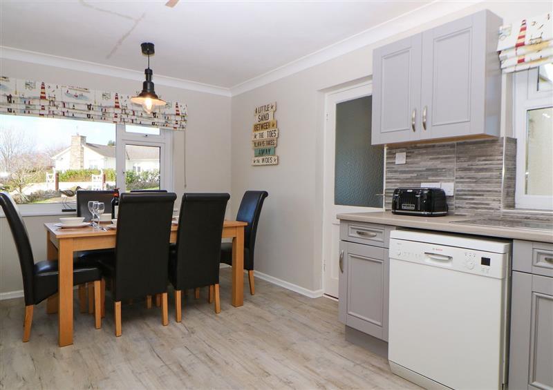 Kitchen at Hedgerow, Blackawton