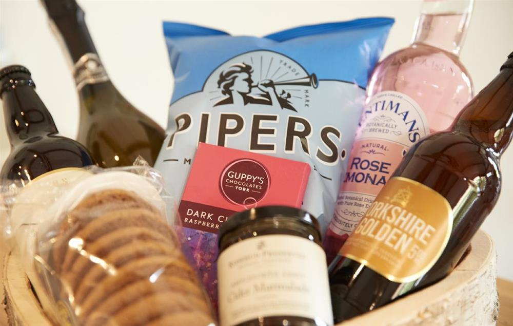 Sample the wide range of Yorkshire local produce available during your stay