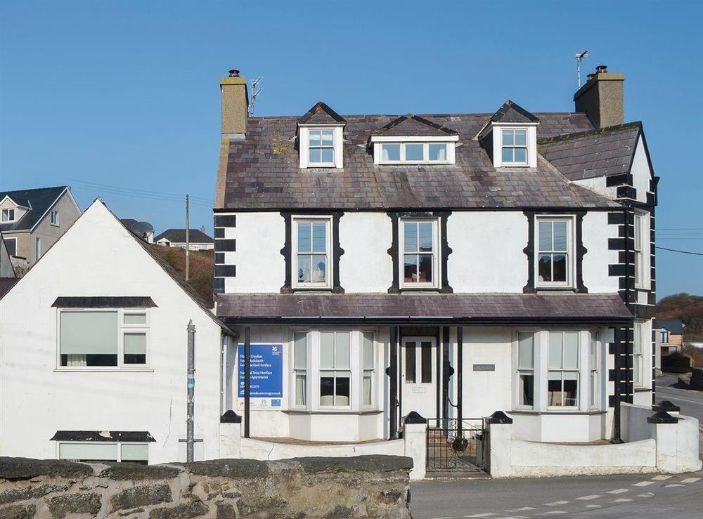 Part of a quayside house in Gwynedd at Daron,