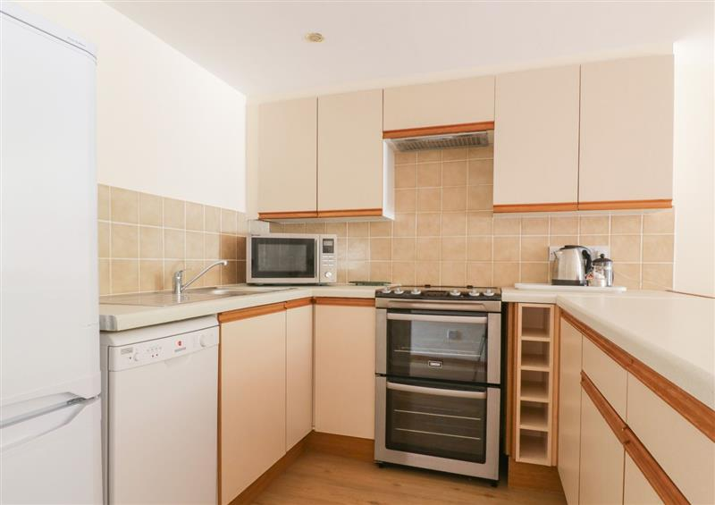 This is the kitchen at Heron Cottage, Wayford