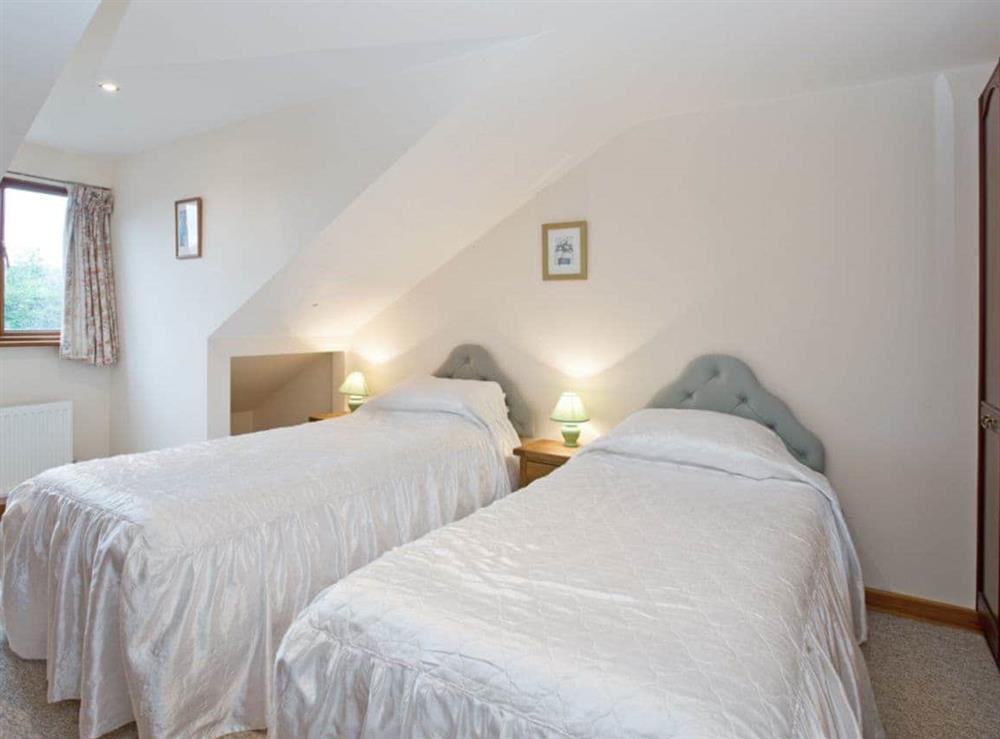 Twin bedroom at Heron in Wayford Bridge, near Stalham, Norfolk
