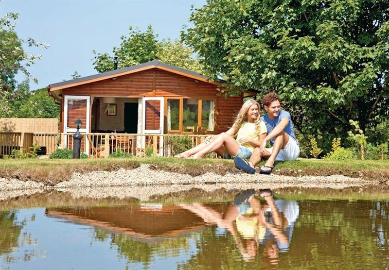 Hornbeam Lodge at Herons Brook Lodges in Pembrokeshire, South Wales