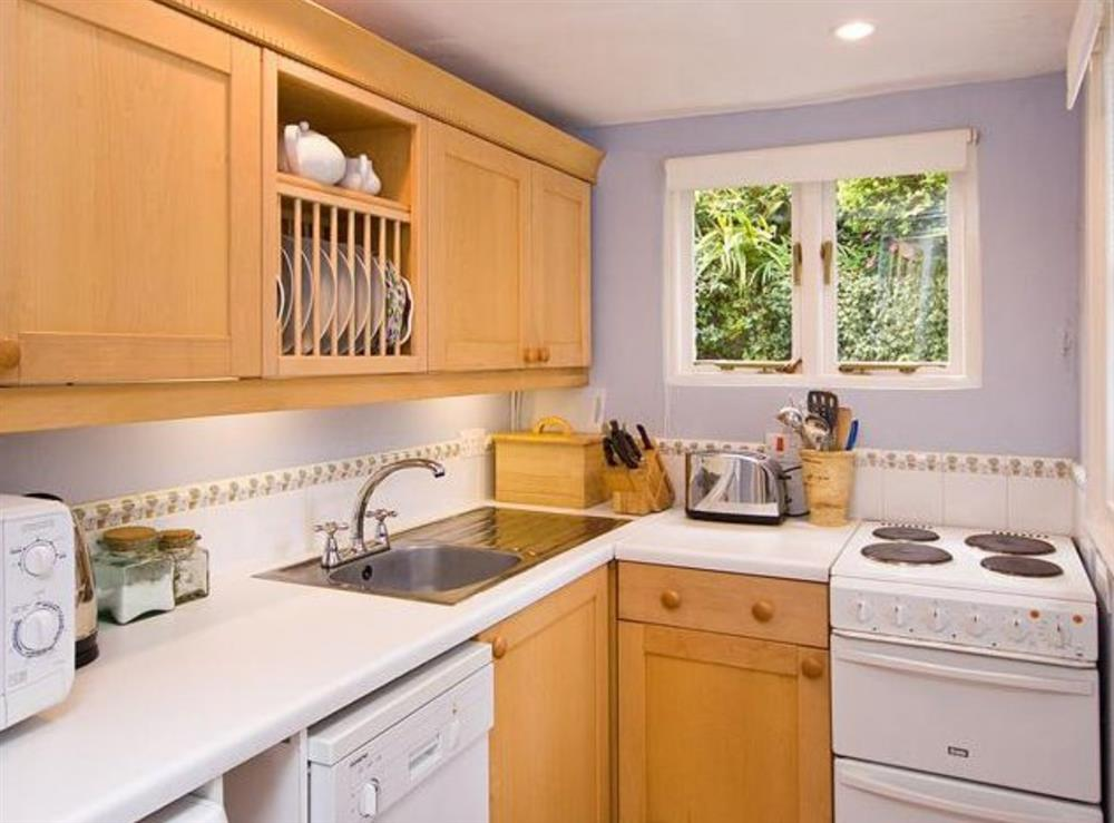 Kitchen at Herons in Dartmouth, Devon
