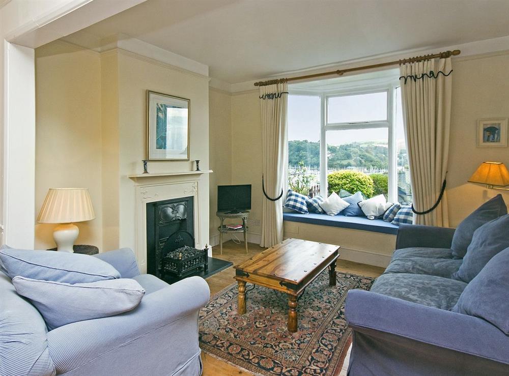 Sitting Room at Herons in Dartmouth, Devon