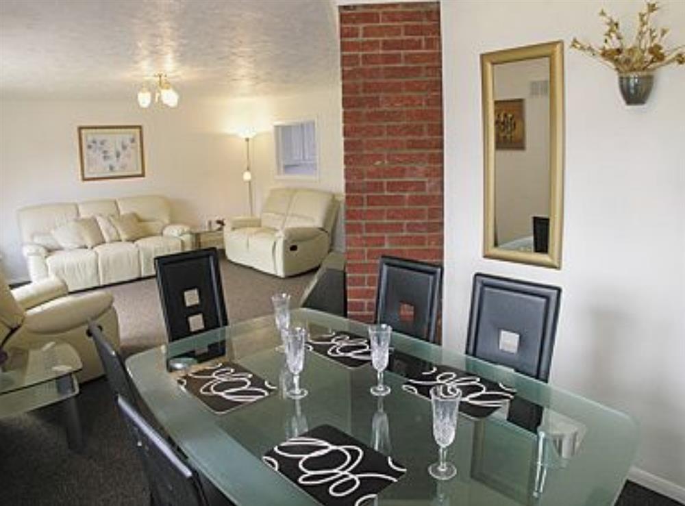 Living room/dining room at Heron's Quay in Wroxham, Norfolk