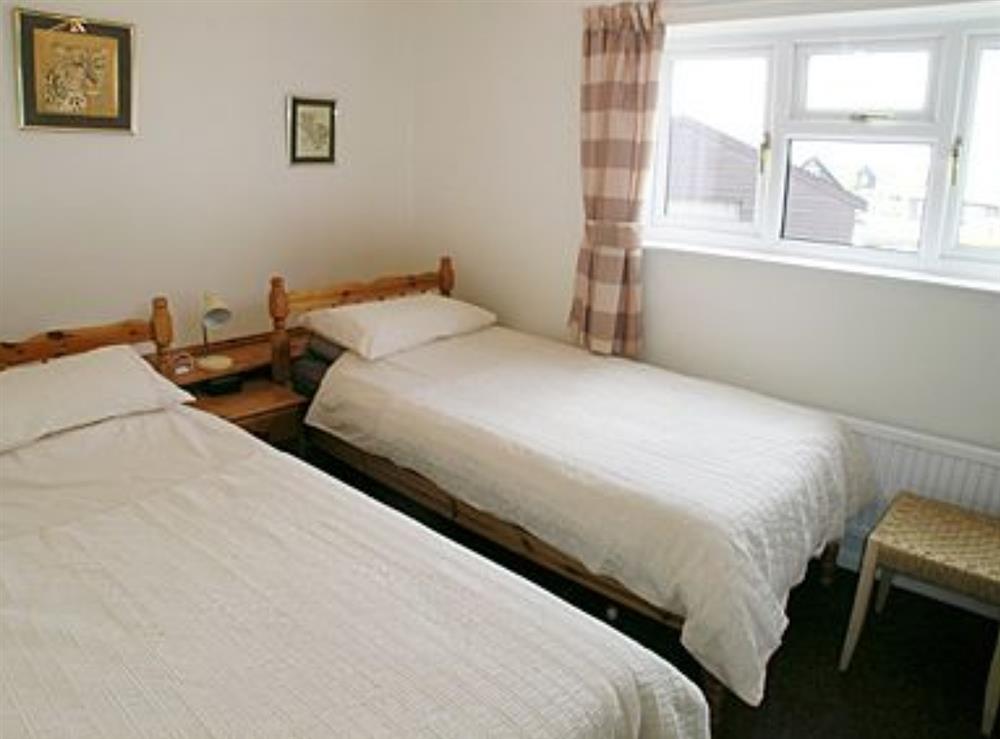 Twin bedroom at Heron's Quay in Wroxham, Norfolk