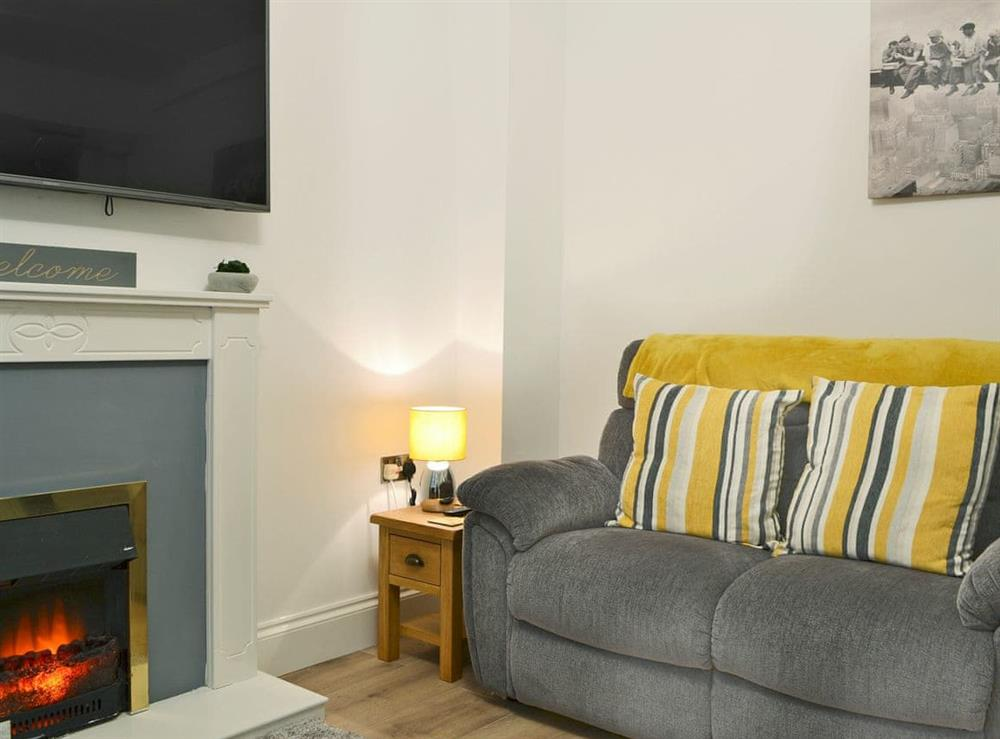 Cosy living area at Hidden Gem Cottage in Driffield, North Humberside