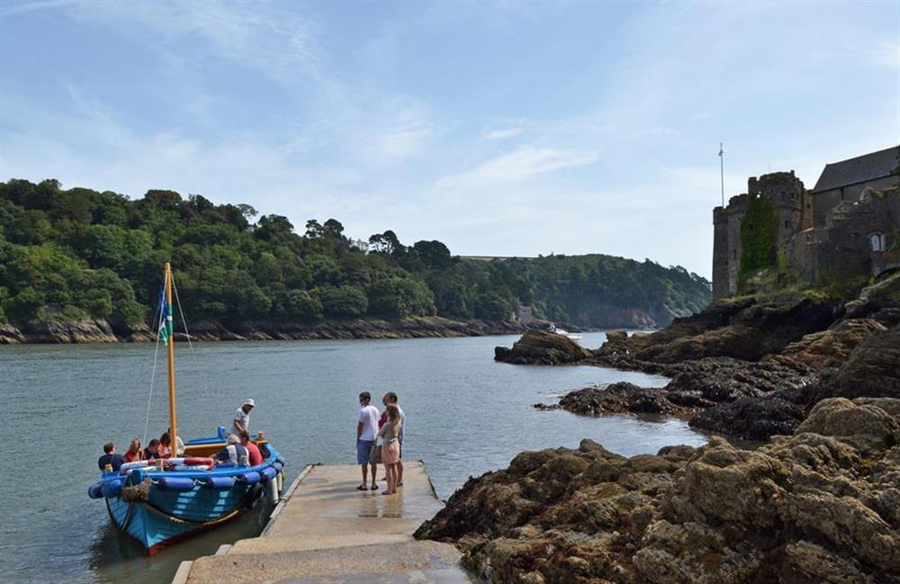 A boat trip to Dartmouth Castle at Hideaway, Harbertonford