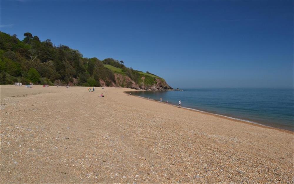Enjoy the beach at Blackpool Sands at Hideaway, Harbertonford