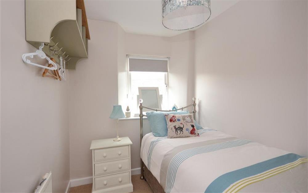 The single bedroom at Hideaway, Harbertonford