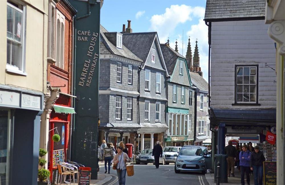 Totnes is full of glorious boutiques, cafes and galleries at Hideaway, Harbertonford