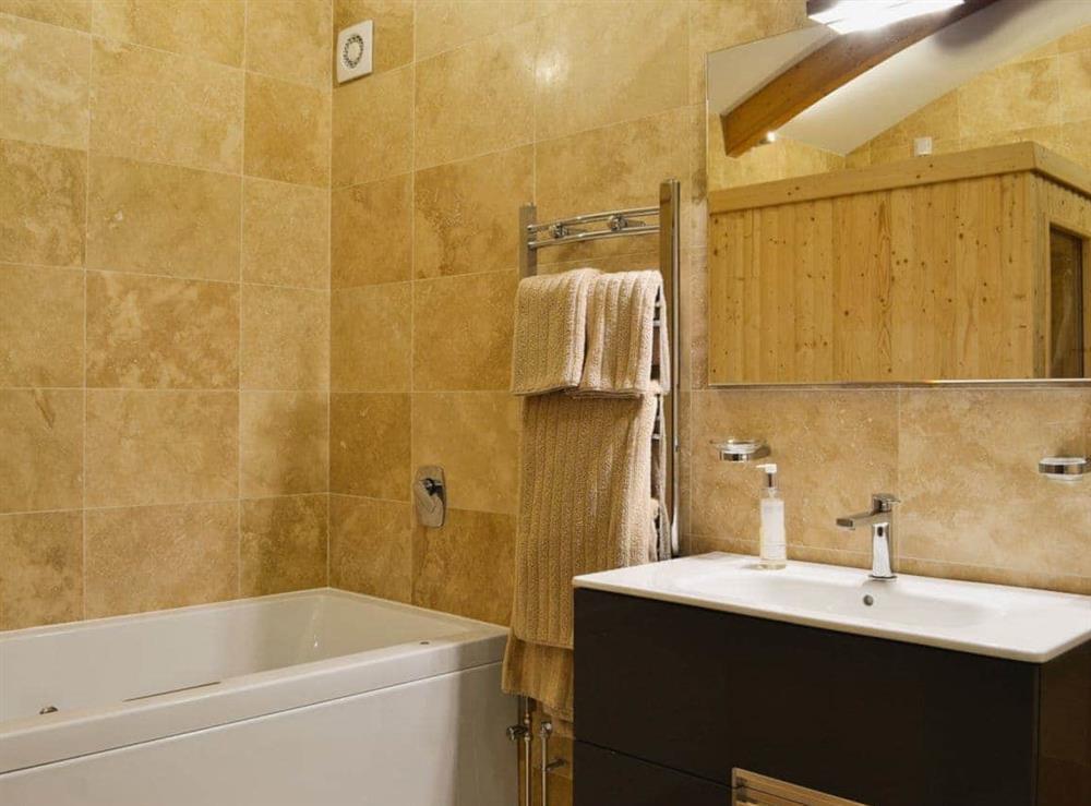 Bathroom at High Trodigal in Machrihanish, near Campbeltown, Argyll
