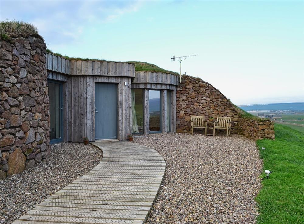 Exterior at High Trodigal in Machrihanish, near Campbeltown, Argyll