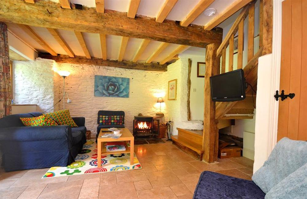 Another view of the sitting room at Higher Cotterbury Cottage, Blackawton