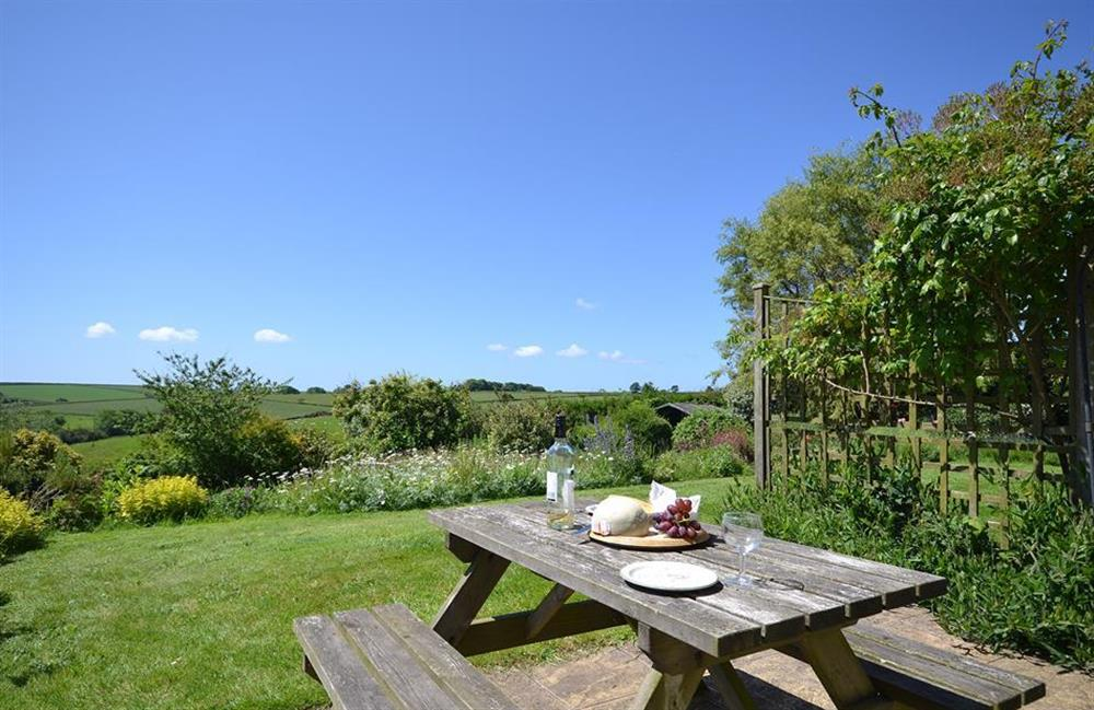 Another shot of the views from the garden and most rooms at Higher Norton Farm, The Annexe, East Allington