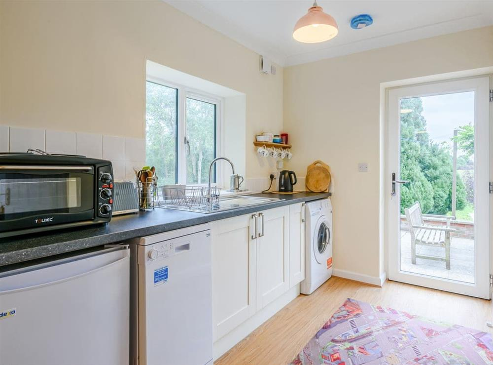 Kitchen at Hilley Holey in Woodbastwick, near Norwich, Norfolk