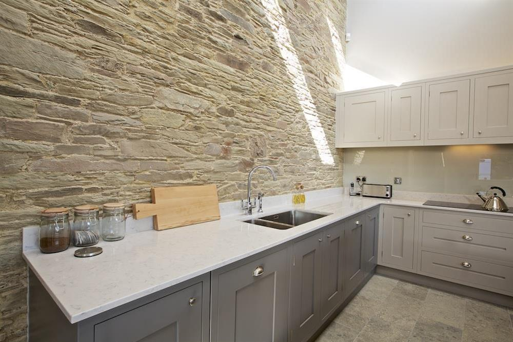 Very well equipped kitchen at Hillfield Farmhouse in , Hillfield, Dartmouth