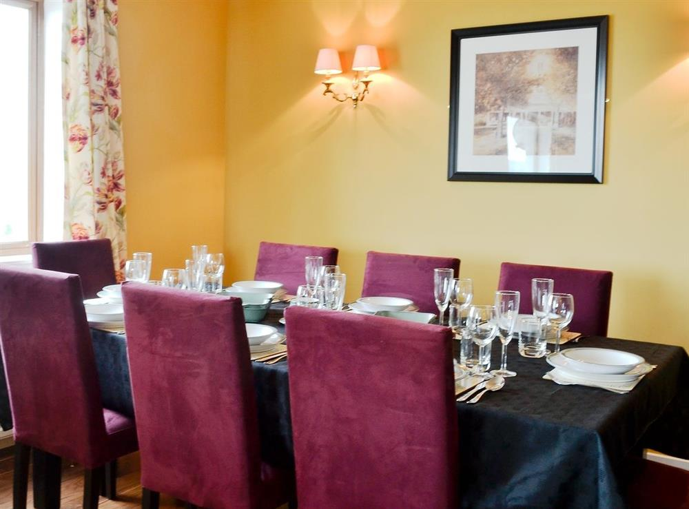 Dining Area at HillView House in North Kessock, near Inverness, Inverness-Shire