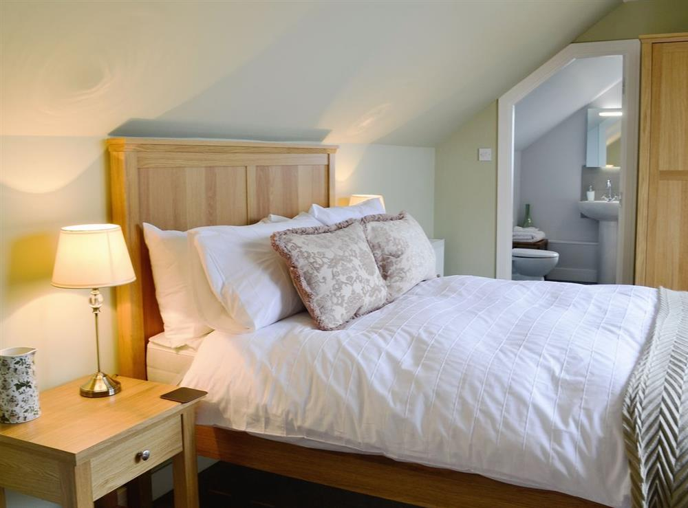 Double bedroom at HillView House in North Kessock, near Inverness, Inverness-Shire