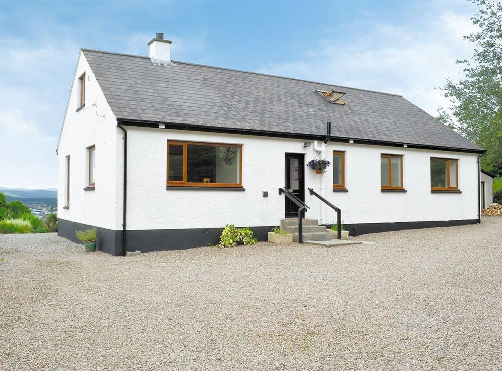 Exterior at HillView House in North Kessock, near Inverness, Inverness-Shire